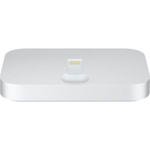 iPhone Lightning Dock Silver - Foto 1