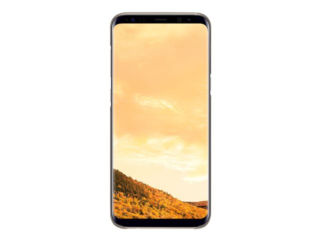 Galaxy S8 Plus Clear Cover Gold - Foto 6