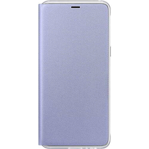 Galaxy A8 (2018) Neon Flip Cover Orchid Gray - Foto 1