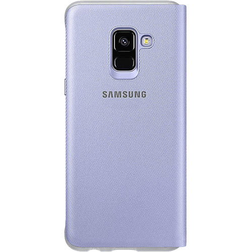 Galaxy A8 (2018) Neon Flip Cover Orchid Gray - Foto 2