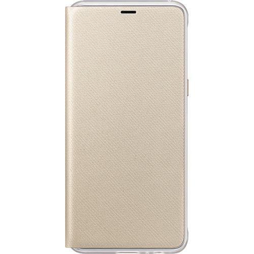 Galaxy A8 (2018) Neon Flip Cover Gold - Foto 1
