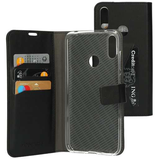 Mobiparts Classic Wallet Case Huawei Y7 (2019) Black