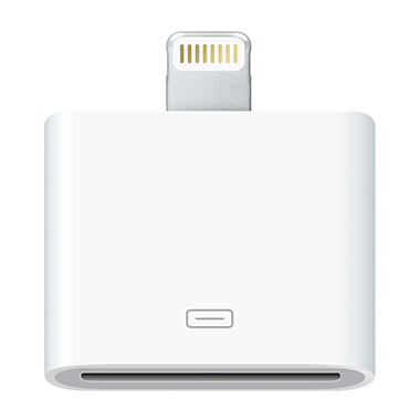 Apple Lightning naar 30-pins adapter
