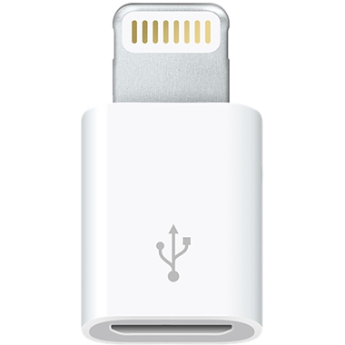 Apple Lightning naar Micro-USB adapter