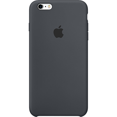 Apple iPhone 6/6S Silicone Case Charcoal Grey
