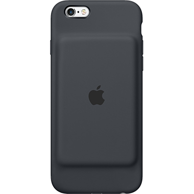 Apple iPhone 6/6S Smart Battery Case Charcoal Grey