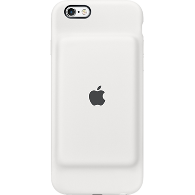 Apple iPhone 6/6S Smart Battery Case White