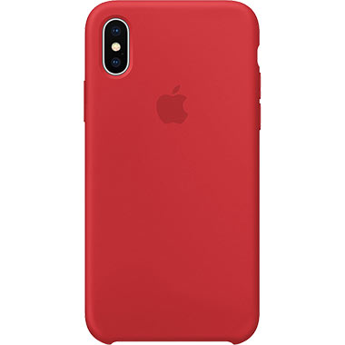 Apple iPhone X/XS Silicone Case Red MQT52ZM/A