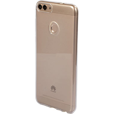 Mobiparts Essential TPU Case Huawei P Smart (2018) Transparant