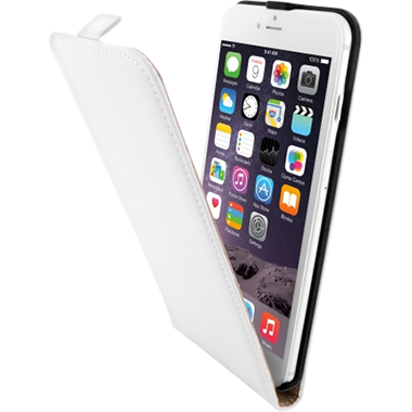 Mobiparts Premium Flip Case Apple iPhone 6 Plus/6S Plus White