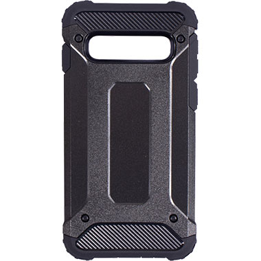 Mobiparts Rugged Shield Case Samsung Galaxy S10 (6.1) Black