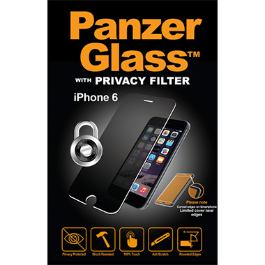 PanzerGlass Screenprotector Apple iPhone 6/6s Privacy