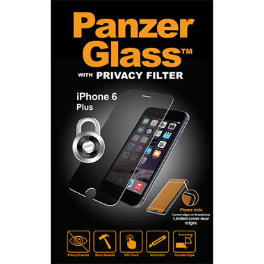 PanzerGlass Screenprotector Apple iPhone 6 Plus/6S Plus Privacy