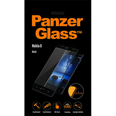 PanzerGlass Screenprotector Nokia 8 - Black