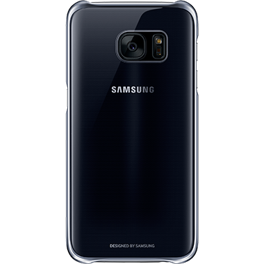 Samsung Galaxy S7 Clear Cover Black