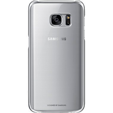 Samsung Galaxy S7 Clear Cover Silver