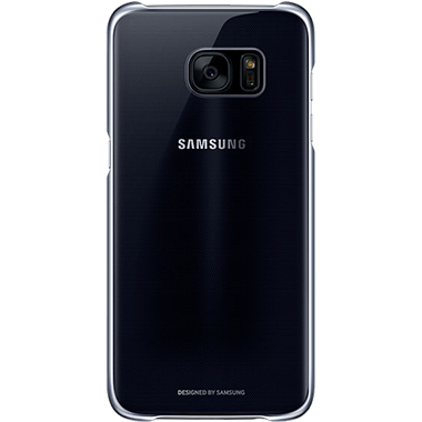 Samsung Galaxy S7 Edge Clear Cover Black