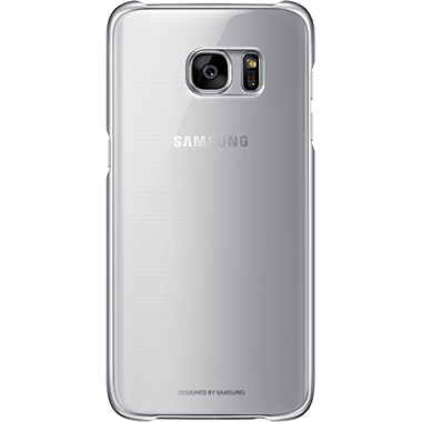 Samsung Galaxy S7 Edge Clear Cover Silver