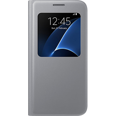 Samsung Galaxy S7 S-View Cover Silver