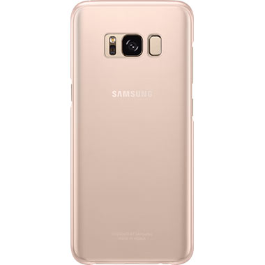 Samsung Galaxy S8 Clear Cover Pink