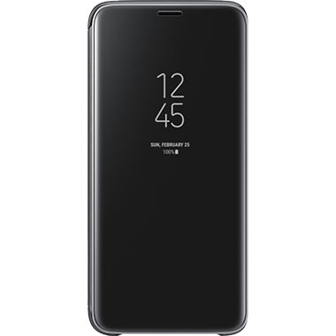 Samsung Galaxy S9 Clear View Cover Black