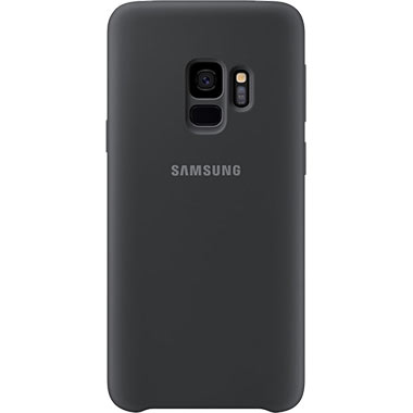 Samsung Galaxy S9 Silicone Cover Black