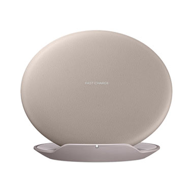 Samsung Wireless Charging Station Brown
