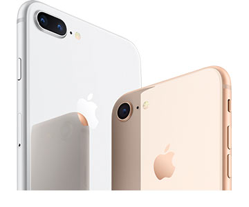 Apple iPhone 8 en iPhone 8 Plus