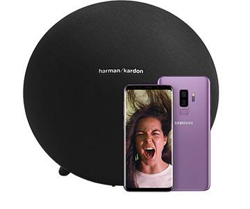 Ontvang een Harman Kardon Speaker bij aankoop van een Samsung Galaxy S9 of S9 Plus