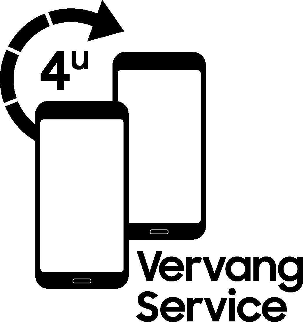 Logo Samsung 4-uur Vervangservice