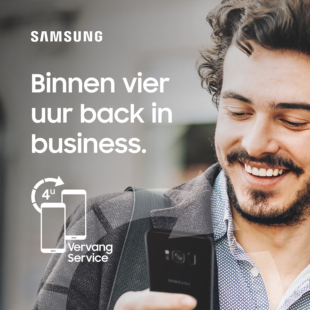 Samsung B2B 4-uur Vervangservice
