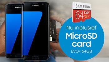 Gratis Samsung SD kaart!